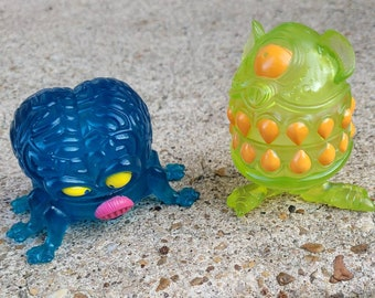 Vintage Kenner The Real Ghostbusters Brain Matter and Stomach Stuff Ghost Figures
