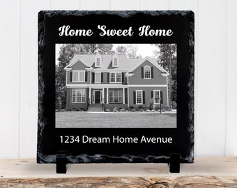 Slate Sign, Home Sweet Home, New Home, Home Owners, Buying A Home, Realtor, Family Gift, Housewarming - Home Decor, Slate Plaque, Gift Idea