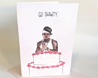 50 Cent Birthday Card 5x7 - Rap - Hip Hop