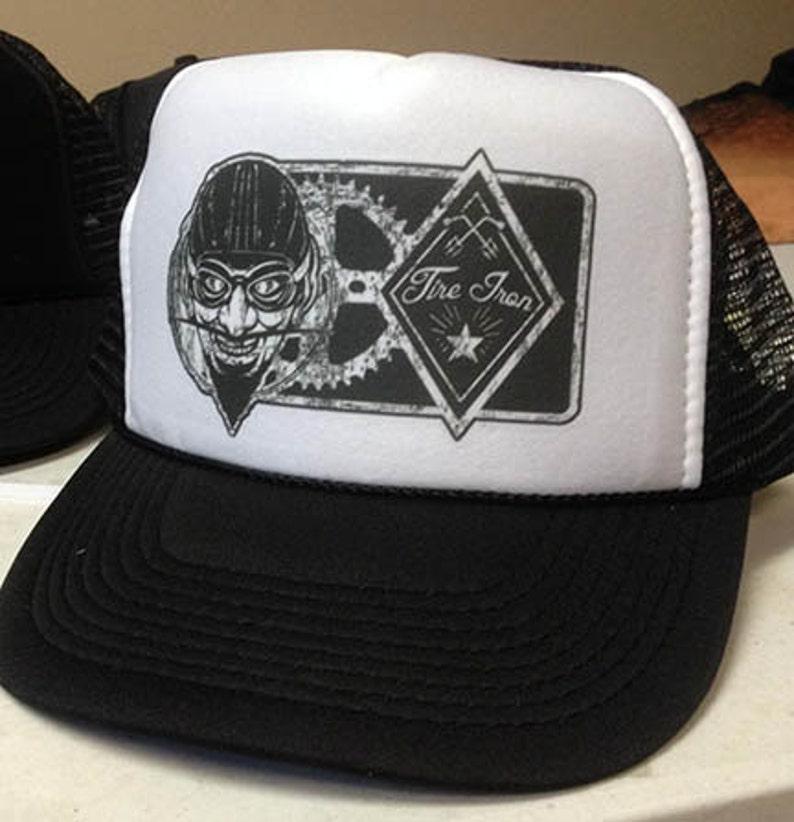 TIRE IRON Devil Trucker hat