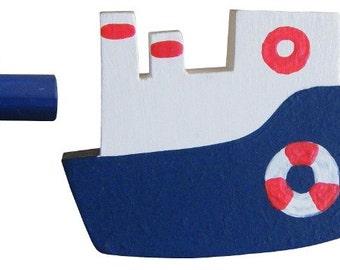 Ship Drawer Knob - Nautical Drawer Pull