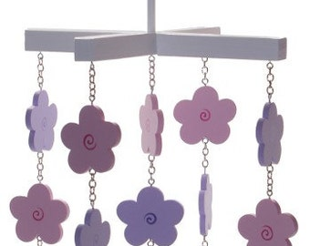 Flower Mobile - Pink and Purple Flower Mobile