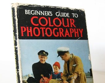 Beginners guide to Photography 1960s Vintage book Gift Vintage book Guide book Photo illustrated Retro
