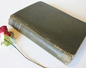 Poetical works of Longfellow green Hardback Gift Book 1900s Poems Ballads poetry poet