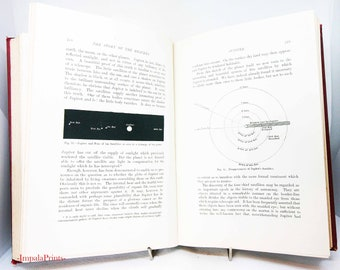 Story Of the Heavens Astronomy 1897 Illustrated space and stargazing Antique vintage book Science Stars Planets Nebule