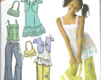 5fa9b0e62a7d42 Simplicity 4208 Girls Plus Dress