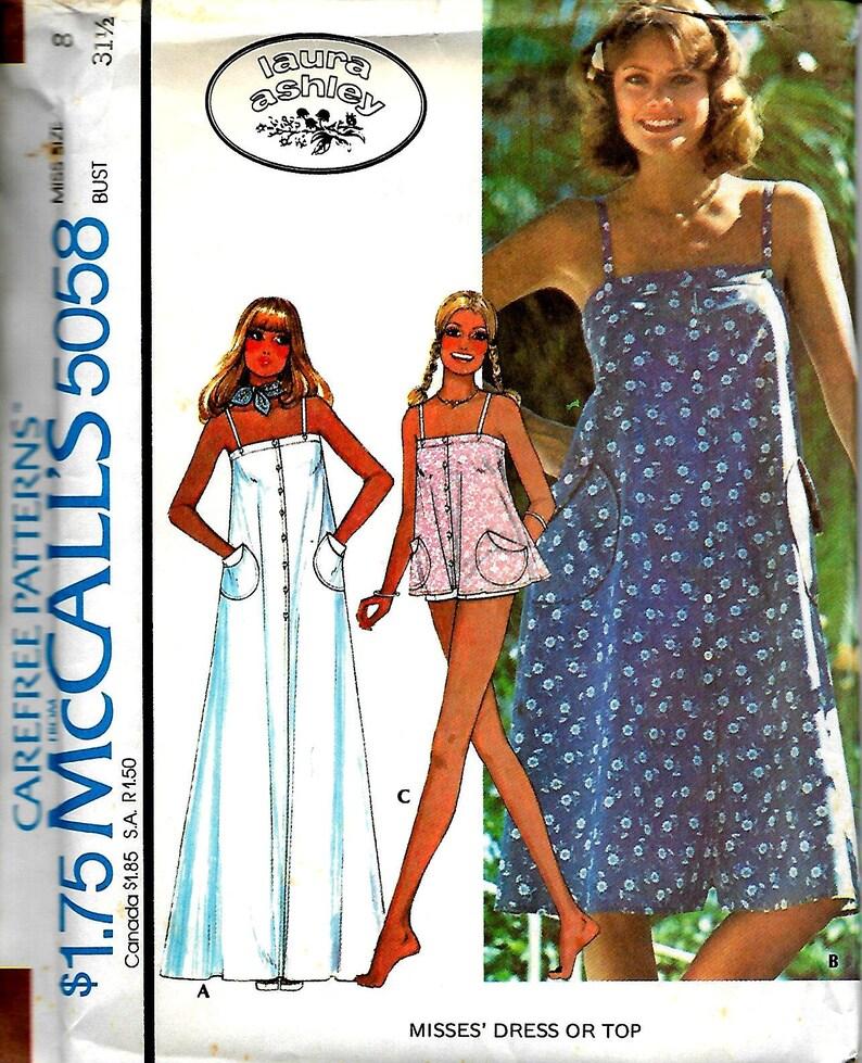 83275cc12811 McCall s 5058 Misses Vintage Summer Dress