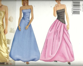 Butterick 6877    Misses  Evening, Prom,  or Party Dress Pattern   Size 18-22   UNCUT
