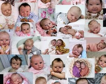RESERVED FOR GB Deposit - Custom Reborn Baby Doll