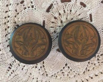 My auntys 1980's earrings