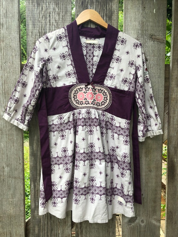 Rare, Vintage, Odd Molly, Embroidered, Hungarian N