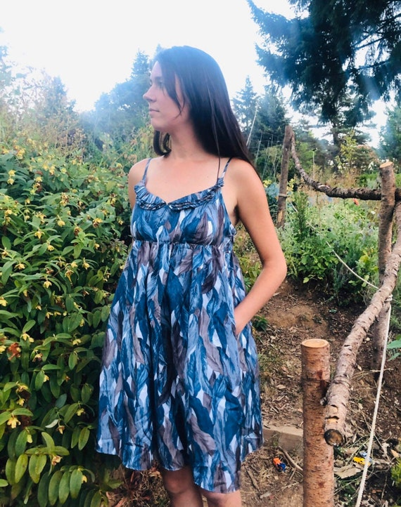 High Quality Silk Sun dress
