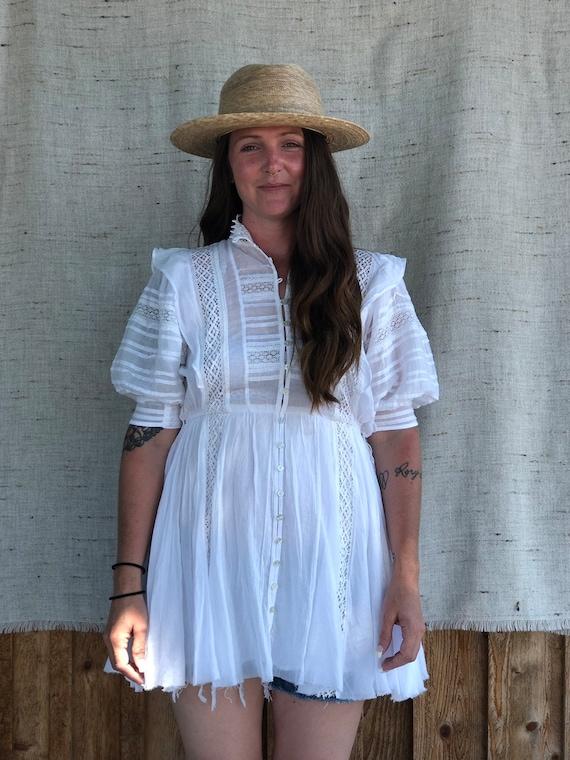 Vintage Edwardian style Free People Dress
