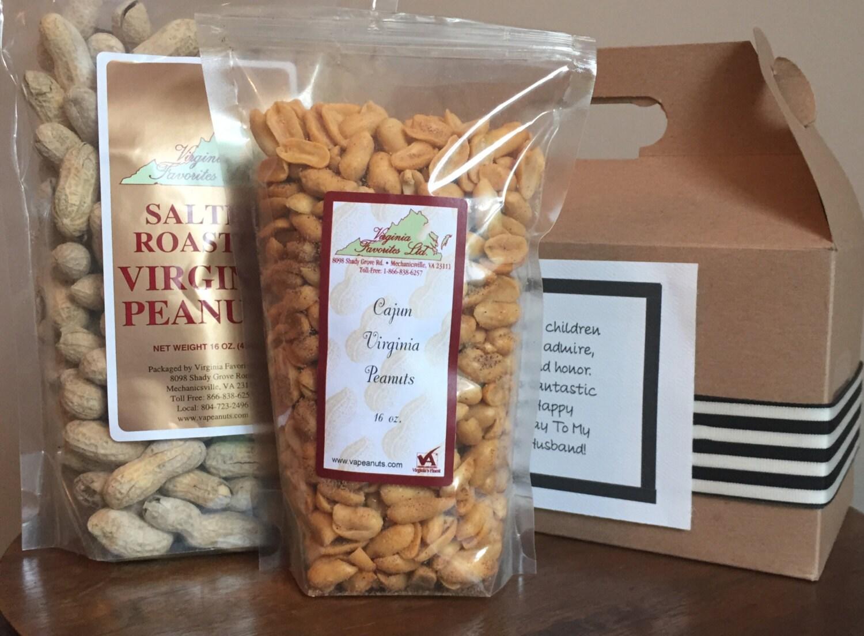 Fresh Virginia Peanut Gable Gift Box Etsy