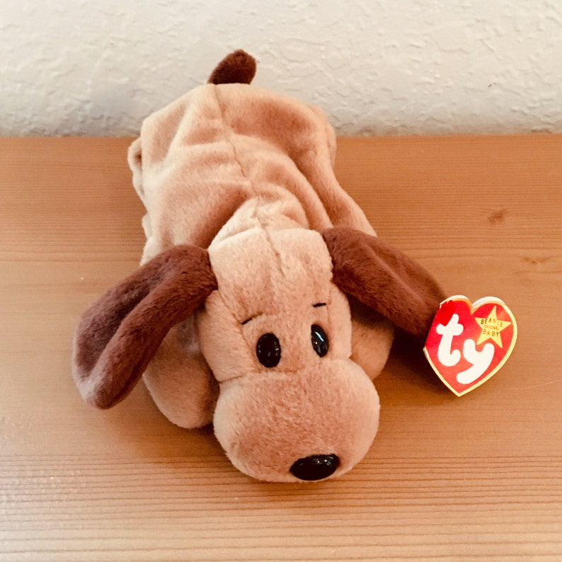 9650e85a3d6 Vintage Ty Beanie Baby Bones with Fourth Generation Hang Tag