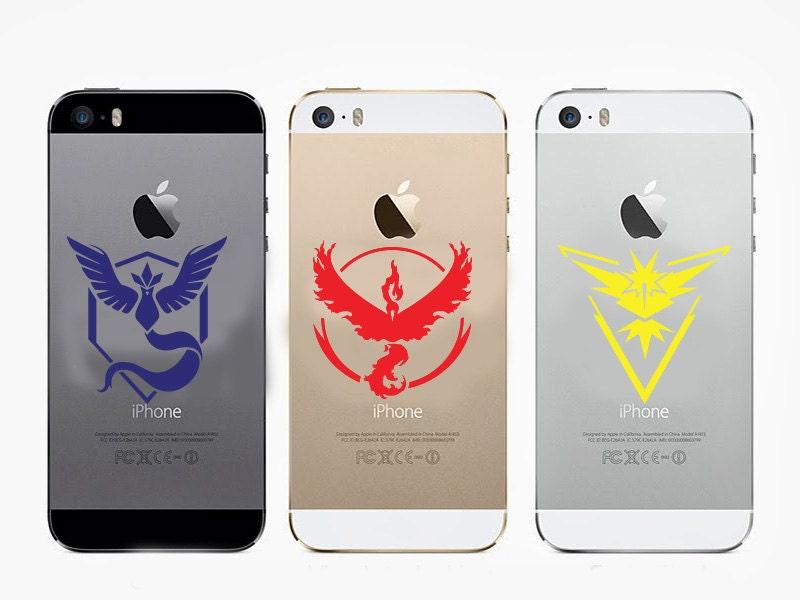 New Pokemon Go Vinyl Decal Sticker Team Instinct Mystic Valor Car Laptop Phone