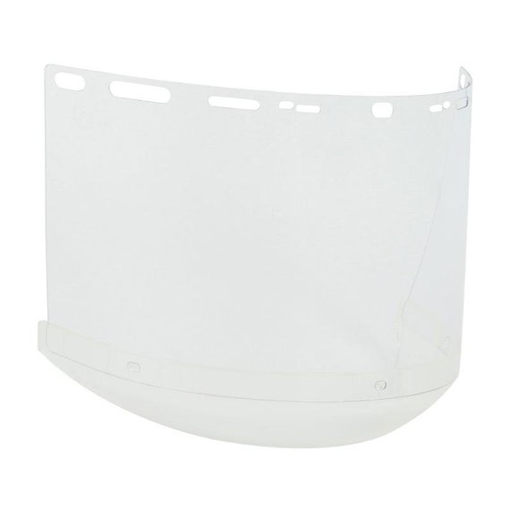 """Polycarbonate visors ,PIP Boutin® Optical .040"""" Thick Universal Fit Polycarbonate Safety Visor - Chin Cup. Faceshield  REPLACEMENT VISOR"""