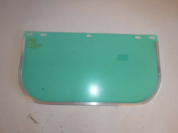 NEW 2AUB8 Faceshield Visor, Polycarb, Clr, 8x15-1/2in   Replacement Visor