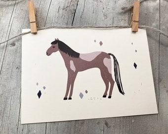 """Postcard - """"Pony"""""""