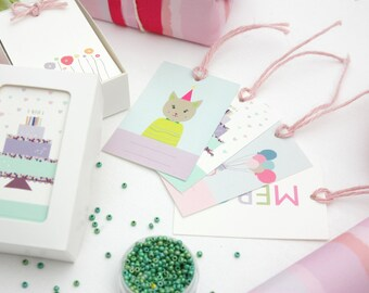 Gift Tags - Box of 50 beautifully designed Gift tags
