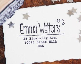 Adress Stamp - Emma Walters