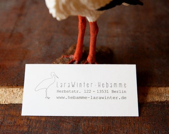 Custom Return Midwife-Stamp - Lara Winter