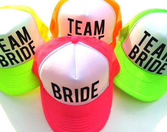 Team Bride Bachelorette party hats d191696948bc