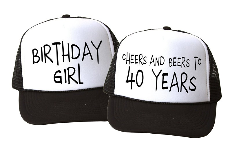 Birthday Party. Birthday Party Trucker Hat. Cheers and Beers.  9fa91fe095bc