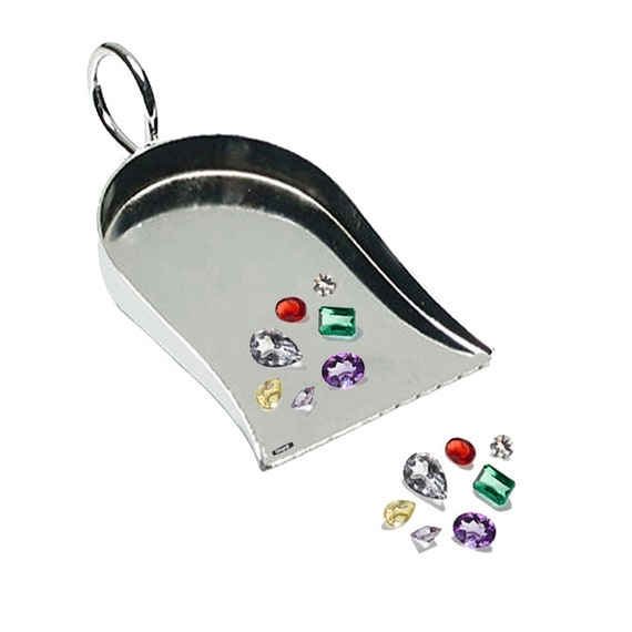 3 Craft Shovel Scoop For Beads Gemstones /& Findings Jeweler Hand Tool