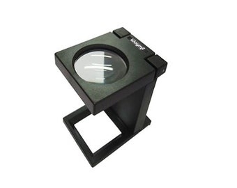 Illuminated Folding Magnifier Lens Loupe 3X Led Jewelry, Laboratory, Graphic Arts, Engraving, Textil. 303-119
