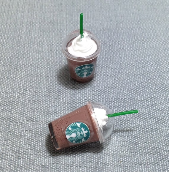 10 Empty Ice Cream Cup Acrylic Plastic Dolls House Miniatures Supply Deco