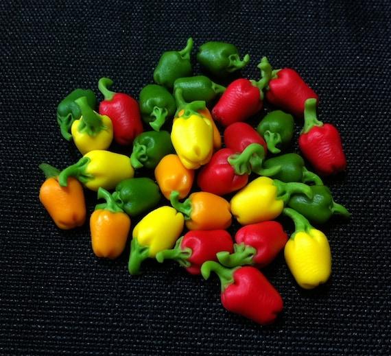 Gemüse Miniatur Puppenhaus Mini Dekor handgemachte Versorgung