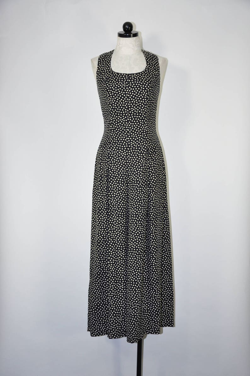 ec394648f1df 80s polka dot jumpsuit   1980s wide leg playsuit   vintage