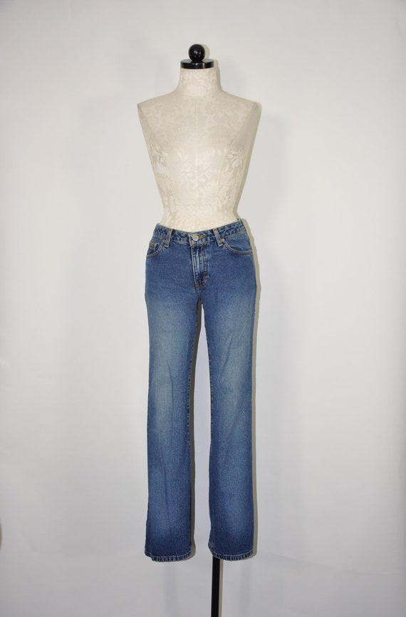 90s Calvin Klein jeans / 90s high waisted jeans /