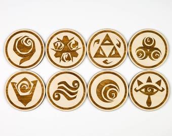 Zelda Coasters (Set of 8)