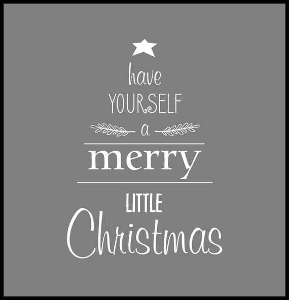 Merry Little Christmas Lyrics.Have Yourself A Merry Little Christmas Merry Christmas Mirror Decal Christmas Decal Little Christmas Christmas Lyrics Christmas Song