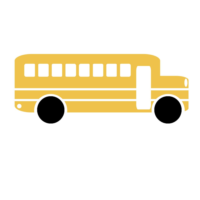 clip art sillhouette school bus teacher scrapbooking png   etsy