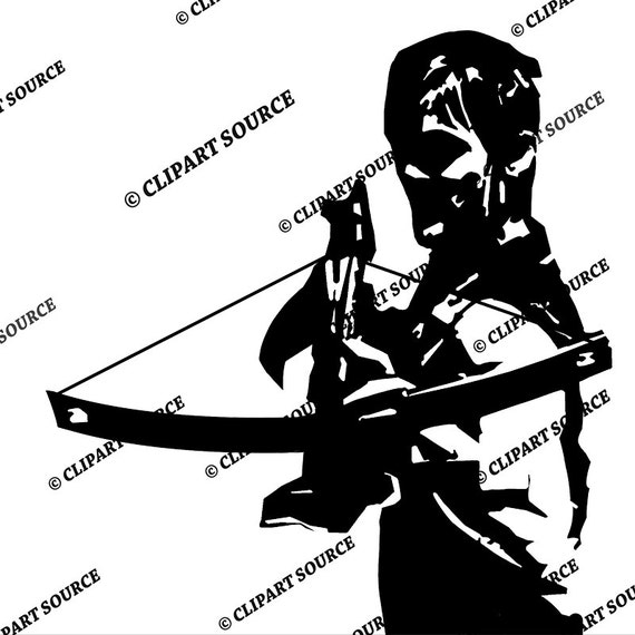 Michonne Silhouette
