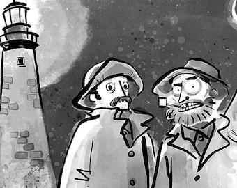 The Lighthouse Print