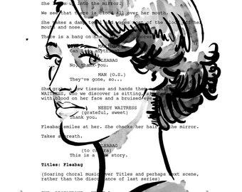 Phoebe Waller-Bridge / Fleabag Screenplay Portrait