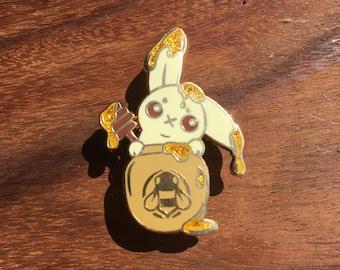 Honey Bunny Enamel Pin