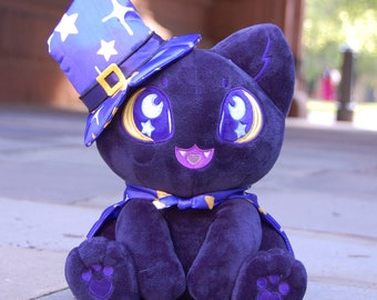 Nyx the Witchy Cat Plush