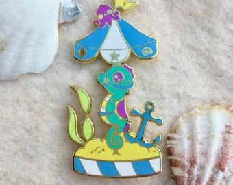 Seahorse Carousel Pin