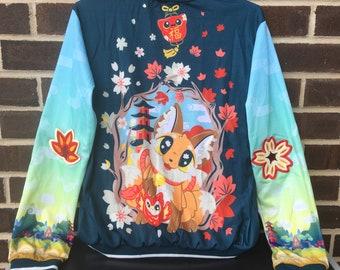 Kitsune Varsity Jacket