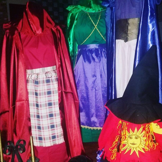 25th Anniversary Hocus Pocus, Sanderson Sisters, Winifred, Sarah, and Mary, Halloween Costumes, Disney Hocus Pocus, Sanderson Witches, Witch