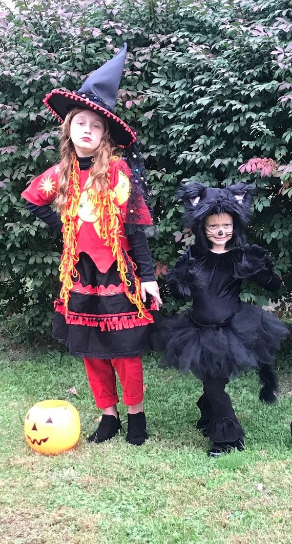 Dani Dennison Costume, Hocus Pocus, Child Costume , Disney Hocus Pocus, Vintage Witch Costume, 5 Pc Set, 25th Anniversary Hocus Pocus