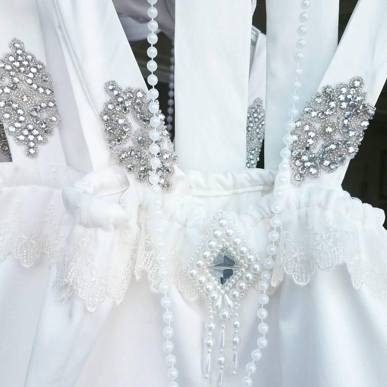 White Flapper Dress Great Gatsby Dress White White Flapper Dress Great Gatsby Flapper Dress 1920/'S Flapper Dress Flower Girl Dress