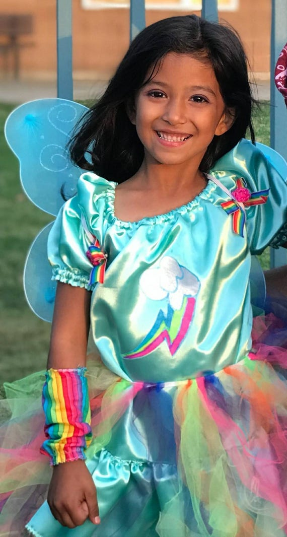 My Little Pony, Rainbow Dash, Rainbow Dash Cosplay, Rainbow Dash Costume, My Little Pony Dress, Little Pony Cosplay, Toddler Rainbow Dash,