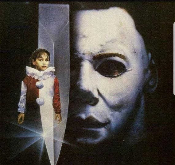 Michael Myers, Halloween 4, Friday The 13th, Children's Clown Costume, Clown Cosplay, Clown, Halloween 5 Clown, Vintage Clown, Red, Vintage