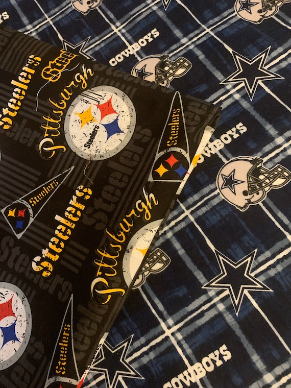 Unisex, Cowboys, NFL Cowboys Face Masks,  Pocket for additional Filtering, Steelers NFL Mask